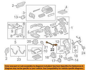 GM OEM-Blower Motor 13263279