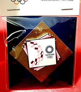 """OFFICIAL """"LOOK OF THE GAMES"""" TOKYO 2020 / 2021 JAPAN OLYMPIC GAMES PIN ON CARD"""