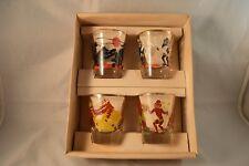 Vintage Rumpus Set Natives Feeral Glass Company Original Early Box LN Condition