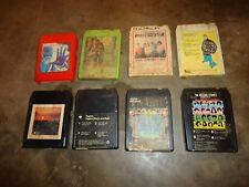 LOT 8, 8 - TRACK TAPES, STEPPENWOLF, JETHRO TULL, FOGHAT, ROLLING STONES, HITS