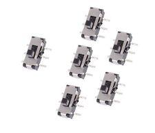 10pcs Mss22d18 Mini Smd Slide Switch 2p2t 6 Pin New
