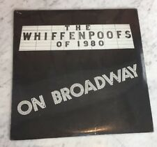 The Whiffenpoofs of 1980 On Broadway YALE Sealed LP Record with Joseph Finder