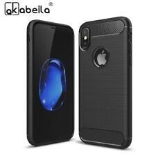 AKABEILA Mobile Phone Case For Apple iPhone X iPhone 10 iPhone Ten Cover Carbon