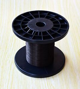 YMT028BL*1000m BLACK   0.28mm PTFE Micro Litz Wire Weld Cable Soldering  1000m