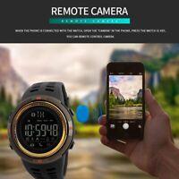 SKMEI Men Military Smart Watches Handfree Digital Sports Wrist Watch Waterproof