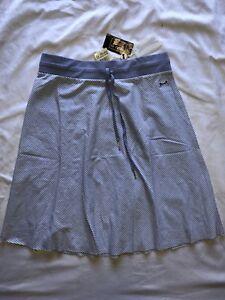 New with Tag Women's/Junior Le Tigre Tennis style skirt Purple Stripe SZ: S,M,L