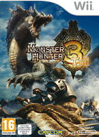 Monster Hunter 3 Tri jeu Nintendo Wii Avec notice Occasion PAL FR