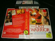 Vhs *THE LAST WARRIOR* 1989 Mega Rare Australin Fox Video Iss.World War 2 Drama!