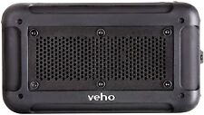 Veho 360 Vecto VSX-001-BLK Bluetooth Water Resistant Speaker with Built in Mic