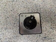 Kraus & Naimer CG10 A231 Fronteinbau 4-Stufen Schalter 4Stellungen 1-2-3-4 4pol.