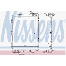 Kühler Motorkühlung - Nissens 60442