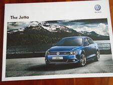 VW Jetta range brochure Oct 2012