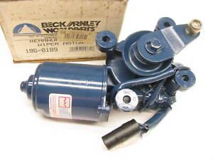 Beck Arnley 196-0189 Reman Windshield Wiper Motor For 1986-1991 Subaru XT