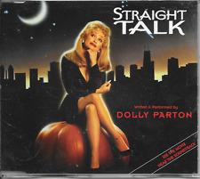DOLLY PARTON - Straight talk CD SINGLE 3TR Benelux 1992