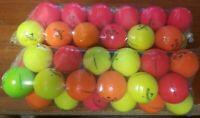 24 Used Callaway Superhot Matte Feel Golf Balls - Random Colors Grade AAAAA