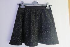 2176 :jupe noire paillétée Gap 8 ans ebondy
