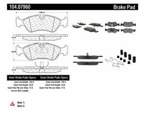 Disc Brake Pad Set Front Centric 104.07960 fits 1999 Daewoo Lanos