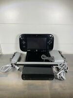 Nintendo Wii U Mario Kart 8 Deluxe Console Bundle with Downloaded Games - TESTED
