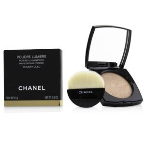 NEW Chanel Poudre Lumiere Highlighting Powder (# 10 Ivory Gold) 8.5g/0.3oz