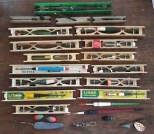 Ensemble d'anciennes  lignes de pêche - Vintage - 70th