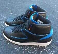 huge discount cc2ed 9a2e7 Nike Air Jordan 2 Retro Radio Raheem SZ 10.5 Black Orange Photo Blue  834274-014