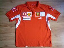 Ferrari Puma Polo Shirt Size M