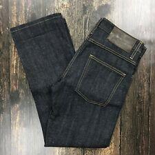 """NAKED & FAMOUS Slim Guy Jeans SZ 30 NWOT Selvedge Japanese Raw Denim 29"""" Inseam"""