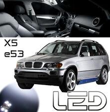 Packung BMW E53 X5 12 LED-Lampen weiß Deckenleuchte Innenraum Spiegel Böden