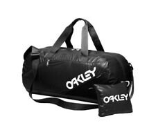 New Oakley Packable Duffel Bag Travel Black Folding 26L Luggage Dufel Military