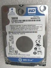 "500GB Western Digital WD5000LPVX 2.5"" WD Blue 7mm slim SATA 6Gb/s Hard Drive"