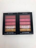 2 Revlon Color Charge Lip Powder - #102 PEACH PUCKER - FSTSHP