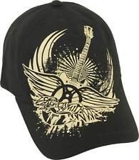 Aerosmith Burn Logo Heavy Rock Music Band Adjustable OSFA Cap Hat SASZ-88449
