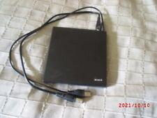 CD DVD Brenner extern Lightscribe gebraucht, wenig benutzt, 2 USB-Kabel