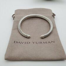 David Yurman Cable Classics Bracelet with Diamonds 5mm, size Small