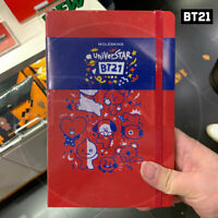 BTS BT21 Official Authentic Goods Ruled Notebook By Moleskine  + Tracking #