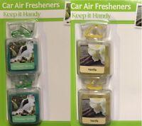2 Pack Ultimate Car Hanging Air Freshener Perfume Fragrance Diffuser
