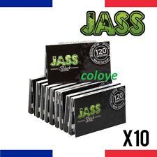 JASS BLACK EDITION REGULAR Lots 10 Carnets de Feuilles à Rouler