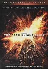 NEW The Dark Knight Rises Two-Disc Special Edition DVD (2012)