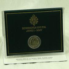 2 Euro Pièce Coin Vatican Vatikanstadt State cologne Dom jeunesse Cologne 2005 BU