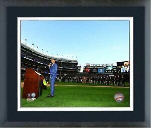 """Derek Jeter New York Yankees Retirement Photo (Size: 12.5"""" x 15.5"""") Framed"""