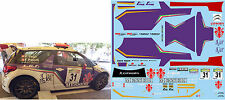 CITROEN DS3 R5 VAGLI RALLY DEL CASENTINO 2015  DECALS 1/43