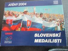 Slowakei Slovensko Ersttagsstempel 2004 ATÈNY Slovenski Medailisti
