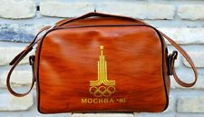 Olympic Games Moscow 1980 USSR. Olympics Moscow 1980 Vintage Bag