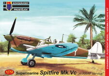 Kovozavody Prostejov 1/72 Model Kit 72147 Supermarine Spitfire Mk.VC In RAAF
