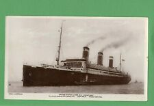 More details for united states lines s s leviathan book post giant rp postcard c r hoffman  t749