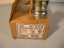 "10 Emerson 4150S Steel EMT Connector Set Screw Type 1-1/2"" Concrete Tight"