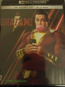 Shazam!  4K Ultra HD + Bluray sous blister