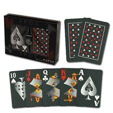 Copag EPOC 100% Plastic Cards - 2 Deck Set - Jumbo Index - Cartamundi