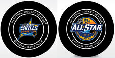 2018 NHL ALL STAR GAME TAMPA BAY OFFICIAL HOCKEY GAME 2 PUCK PKG w/Cube
