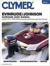 EVINRUDE JOHNSON OUTBOARD MOTOR 1.6 2 3 4 8 9.9 15 20 HP Engine Service Manual